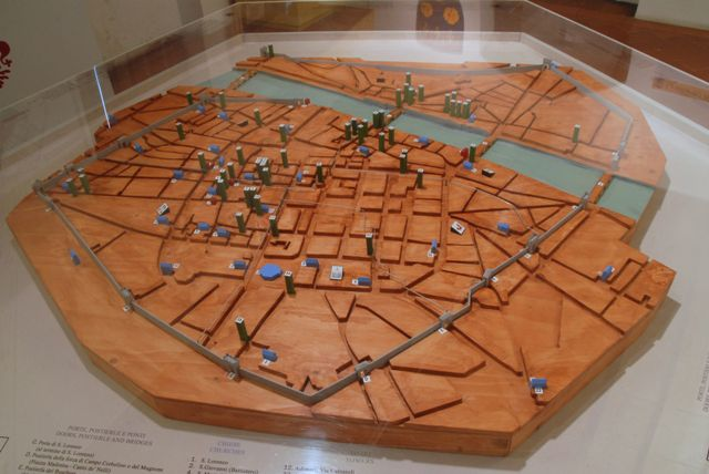 Ricostruzione della Firenze medioevale