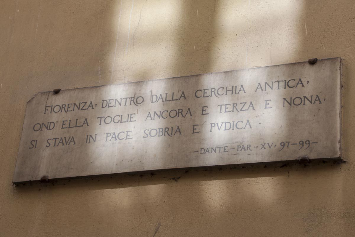 Dante's Plaque