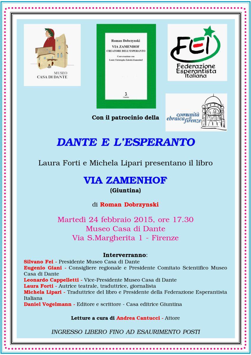 Dante e l'Esperanto