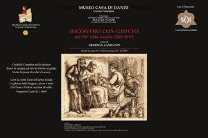 Locandina Incontro con Giotto 13 e 20 giugno 2017