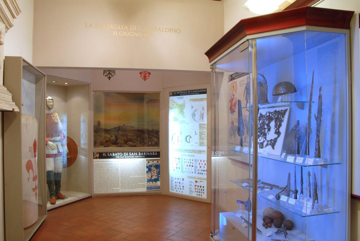Hall of the Battle of Campaldino