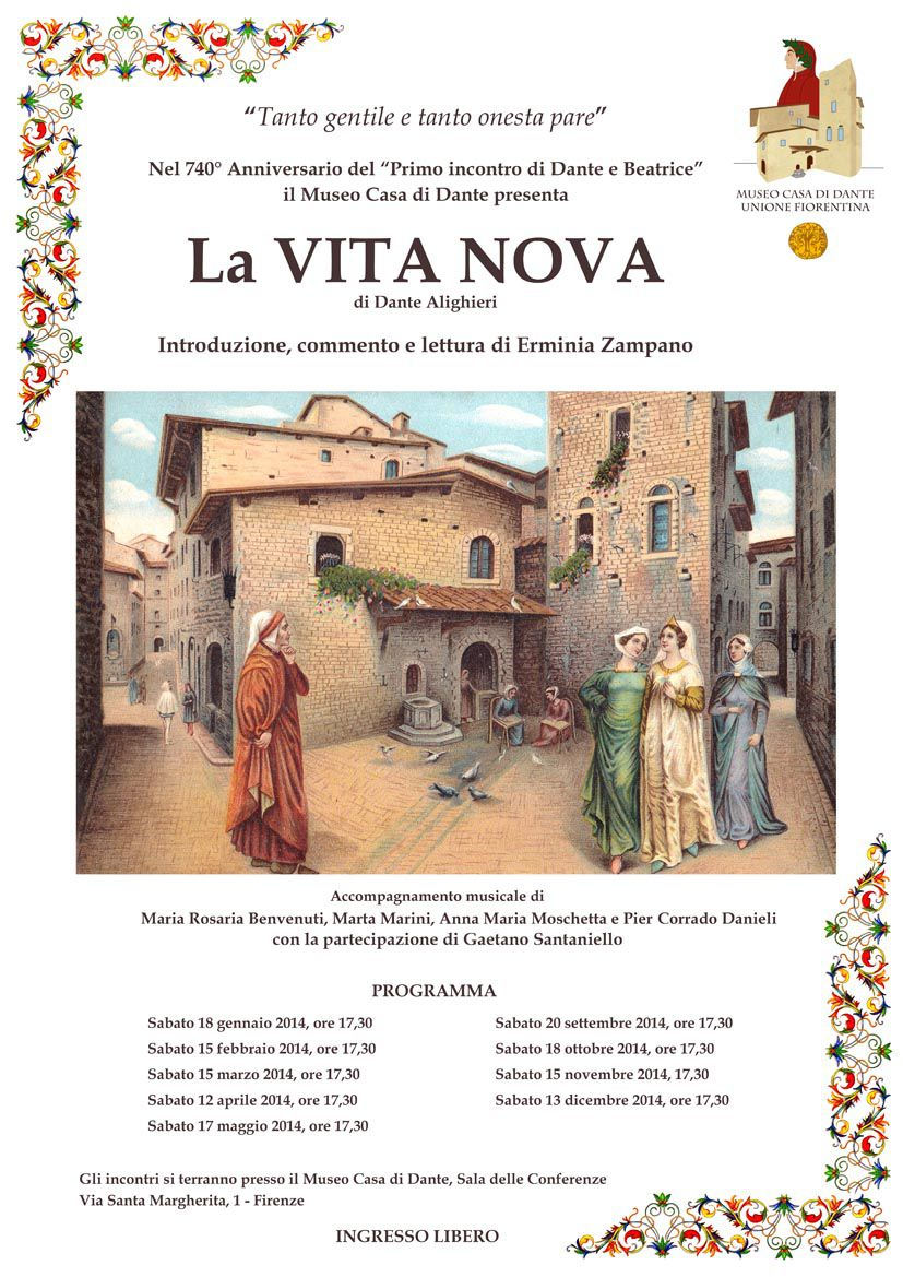 La vita nova by Dante Alighieri - Readings