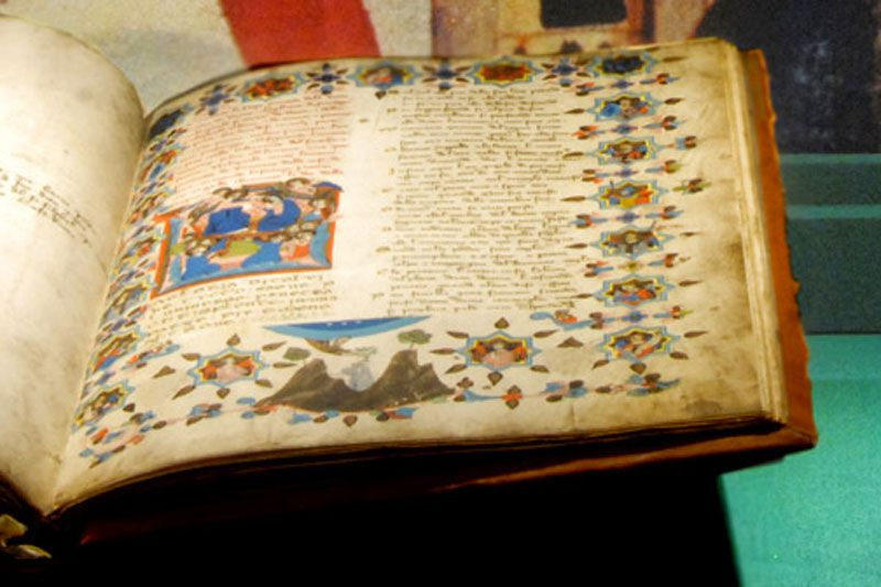 An original manuscript of Dante's period