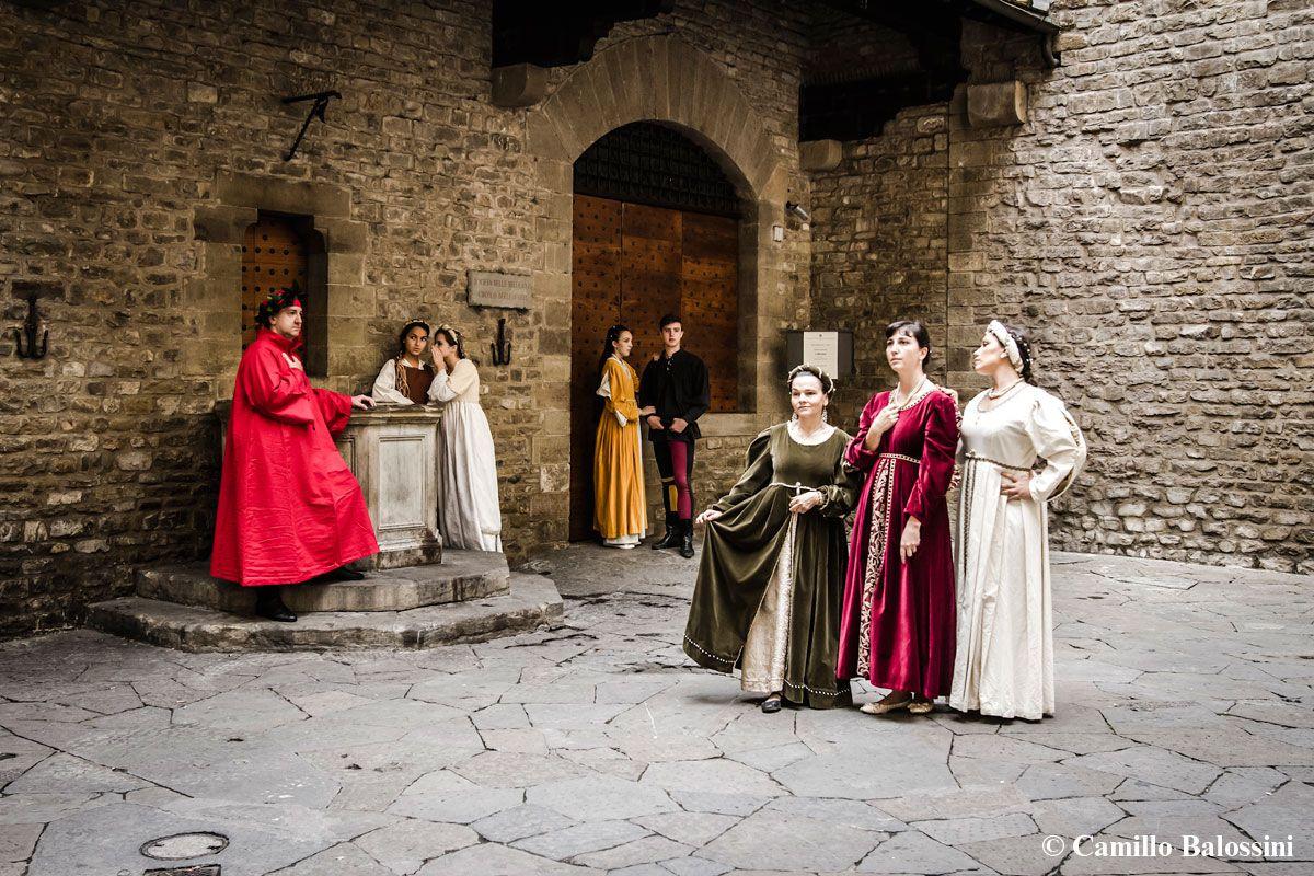 Rievocazione storica, la vita di Dante Alighieri
